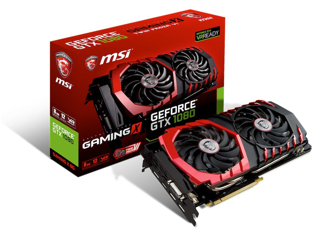 GeForce GTX1080 8GB MSI製 GeForce GTX1080 GAMING X 8G