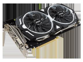 MSI GeForce GTX1070 Ti ARMOR 8G