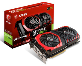 GeForce GTX1080 Ti 11GB MSI製 GeForce GTX1080 Ti GAMING X 11G