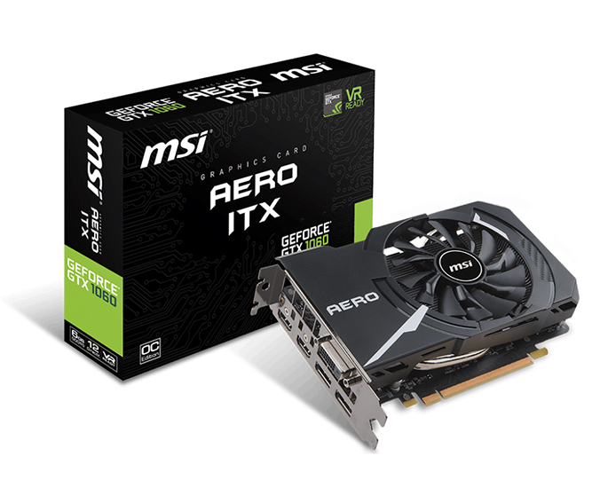 MSI GTX1060 AERO ITX 6G OC