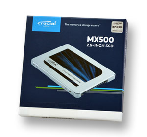 Crucial CT500MX500SSD1  500GB